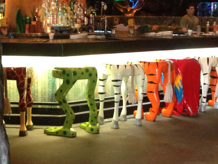 Dine with the Animals at Rainforest Cafe
